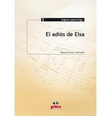 El Adiós de Elsa/ Vocal Score