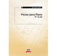 Piezas para Piano Nº 76 al 80