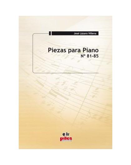 Piezas para Piano Nº 81 al 85