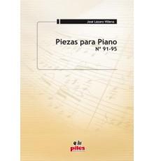 Piezas para Piano Nº 91 al 95