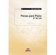 Piezas para Piano Nº 96 al 100