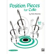 Position Pieces for Cello Book 2
