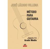 Método para Guitarra. Curso 3º y 4º Grad