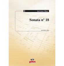 Sonata Nº 18 (Flauta y Piano)