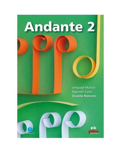 Andante. 2. Segundo Curso   CD Nueva Ed.