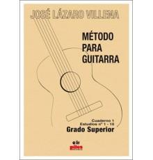 Método para Guitarra. Cuaderno 1 Estudio
