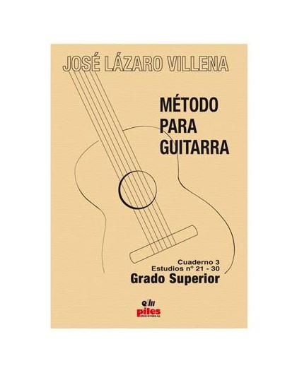 Método para Guitarra. Cuaderno 3 Estudio
