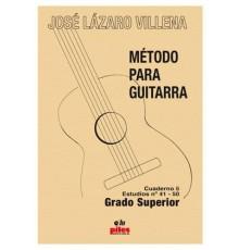 Método para Guitarra. Cuaderno 5 Estudio