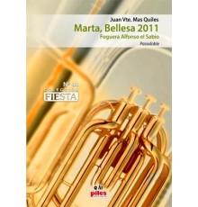 Marta, Bellesa 2011