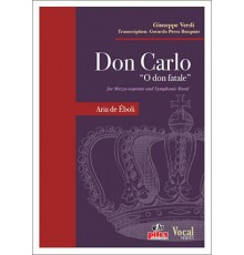 "Don Carlo ""O Don Fatale""/ Full Score A-4"