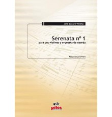 Serenata Nº 1/ Red.Pno.
