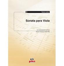 Sonata para Viola de Tomás Lestán