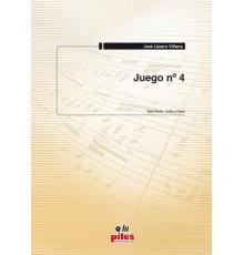 Juego Nº 4. Violín, Cello y  Piano