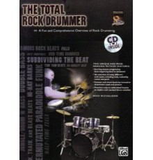 The Total Rock Drummer   CD