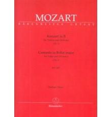 Concerto in B-Dur Nº 1 KV 207/ Full Scor