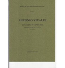 Concerto in Mi minore F.VIII Nº6/ Full S