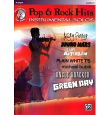 Pop & Rock Hits Instrumental Solos   CD/