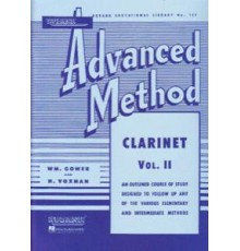 Rubank Advanced Method- Clarinet Vol.II