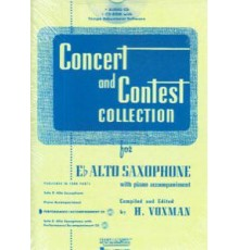 Concert and Contest Collection CD Alto S