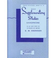 Supplementary Studies Saxofón