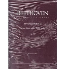 String Quartet E-flat Major Op. 127/