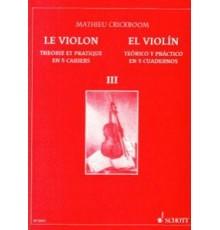 El Violín III. Teórico y Práctico