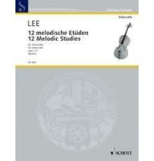 12 Melodische Etüden Op. 113