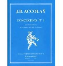 Concertino Nº 1 en La mineur I