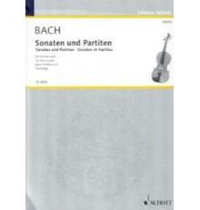 Sonaten und Partiten BWV 1001-1006