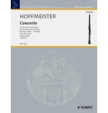 Concerto B-Dur for Clarinet and Orchestr