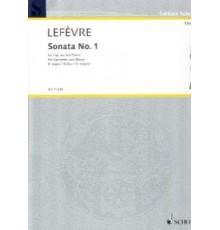 Sonata Nº 1. B-Dur Méthode de Clarinett