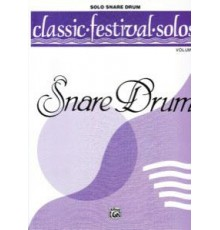 Classic Festival Solos Snare Drum Vol. 2