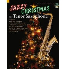 Jazzy Christmas for Tenor Saxophone   CD