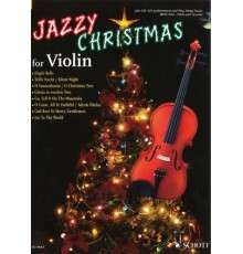 Jazzy Christmas for Violin   CD