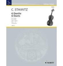 6 Duette Nº 1-3 fur 2 Violas