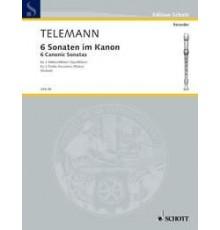 Six Sonatas in Canon Op. 5