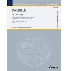 6 Duette Heft 2 Op. 1 Duette 4-6