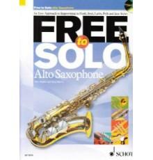 Free to Solo Alto Saxophone    CD