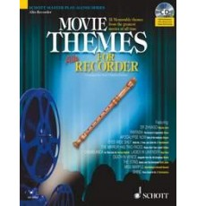 Movie Themes for Alto Recorder   CD