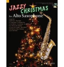 Jazzy Christmas for Alto Sax   CD