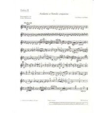 Andante und Rondo Ungarese/ Violin II