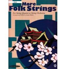 More Folk Strings Cello String Quartet o