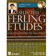 Selected Ferling Etudes   2CD Alto Sax