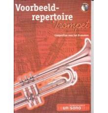 Voorbeeld-Repertoire Trompet   CD