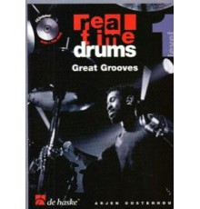 Real Time Drums Great Grooves   CD