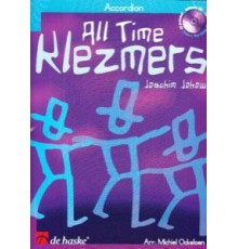 All Time Klezmers for Accordion   CD