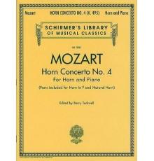 Horn Concerto Nº 4 K. 495/ Red.Pno.