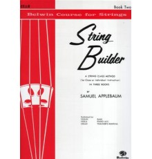 String Builder Book Two. Cello
