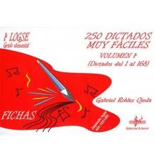 250 Dictados muy Fáciles Vol.1-G.Elemen