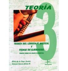 Teoría del Lenguaje Musical 3º y Fichas